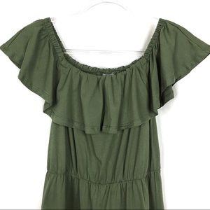 ASOS Dresses - ASOS | Green Off The Shoulder Dress
